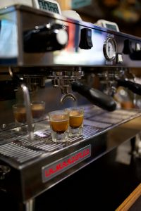 Visit Ellijay's Coffee House and get an espresso Shot